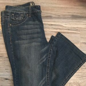 Hydraulic jeans with tags.  Size 16.